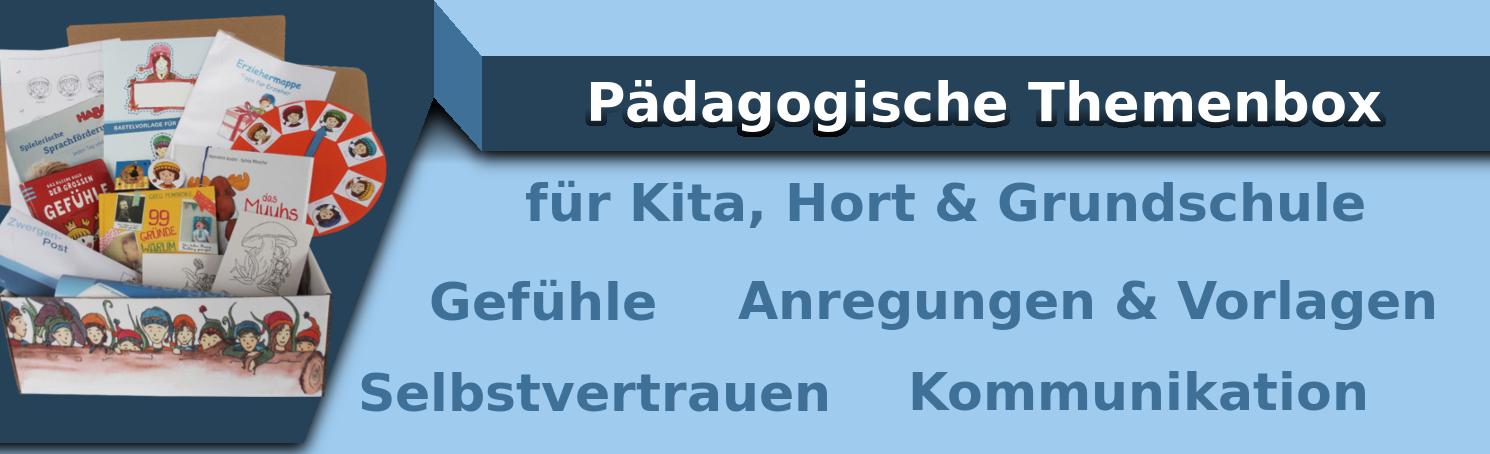 Pädagogische Themenbox Kita, Hort & Schule | Bastelvorlagen | El