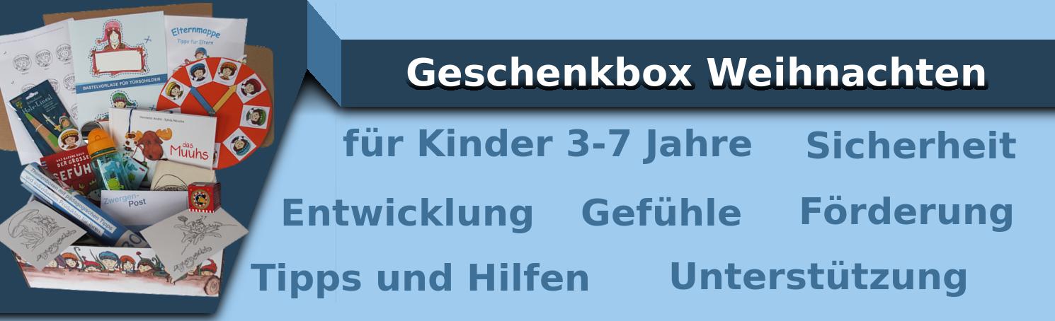 Geschenkbox Weihnachten Kinder | Weihnachtsgeschenk
