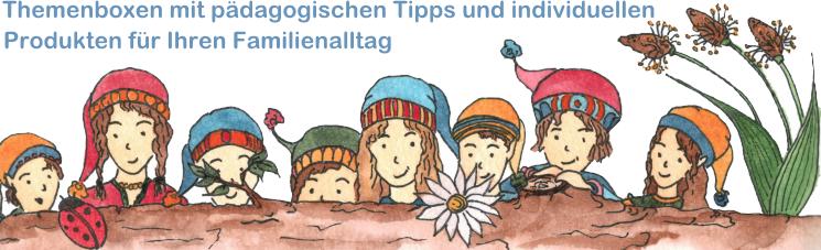 Themenboxen und Geschenkboxen für Kinder und Familien