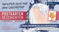 Postkartengeschichten Strubbelrute Der Sternschnuppenfuchs
