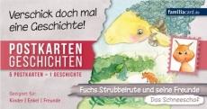 Postkartengeschichten Strubbelrute Das Schneeschaf
