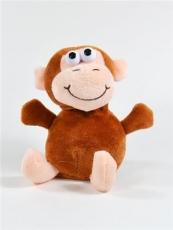 Laber-Affe Zulu, der alles nachplappert, inkl. Batterien, 18x12x16cm