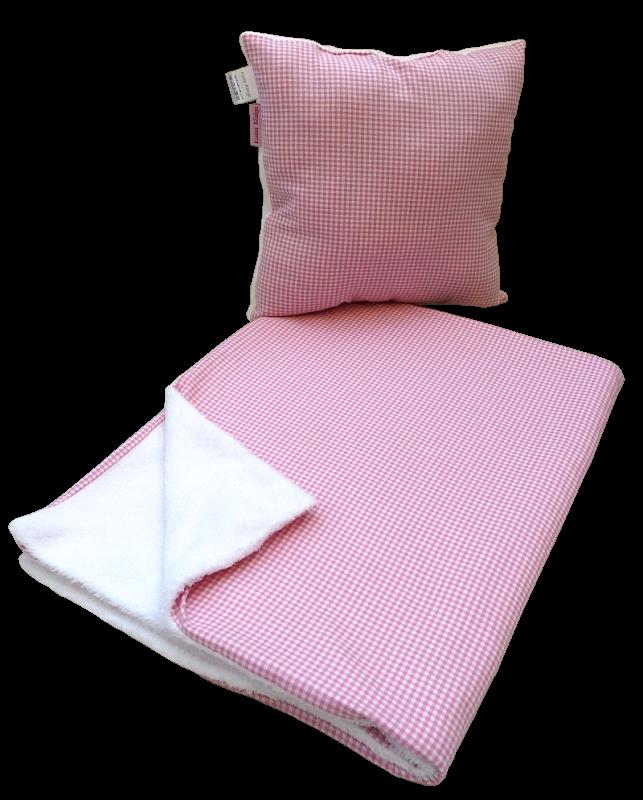 kuschelige und warme babydecke und kissen im set mit pr. Black Bedroom Furniture Sets. Home Design Ideas