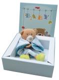 Geschenkbox Geburt Schiff Ahoi Neutral | Geschenk zur Geburt | Taufgeschenk | Babygeschenk