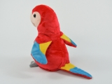 Laber-Papagei Paul, plappert alles nach, Batterien inkl., 12x11x17,5cm