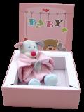 Geschenkbox Geburt Willkommen kleiner Zwerg Mädchen | Babygeschenk | Taufgeschenk | Geschenk Geburt & Taufe