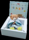 Geschenkbox Geburt Willkommen kleiner Zwerg Neutral | Geschenk zur Geburt | Taufgeschenk | Babygeschenk
