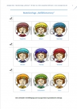 10 x Bastelset Gefühlsmemory Zwerge farbig - Deutsch, Englisch oder Arabisch - für Kindergeburtstag & Kita