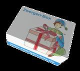 Geschenkbox für Kinder | Geschenkkarton | Zwergen-Box leer (individuell befüllbar)