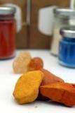 Experimentier-Set zum Online-Kurs Mit Kindern Naturfarben entdecken