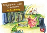 Original Don Bosco Kamishibai Bildkartenset. Der Froschkönig