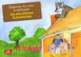 Original Don Bosco Kamishibai Bildkartenset. Die drei kleinen Schweinchen