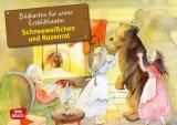 Original Don Bosco Kamishibai Bildkartensets. Schneeweißchen und Rosenrot