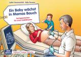 Original Don Bosco Kamishibai Bildkartenset. Ein Baby wächst in Mamas Bauch