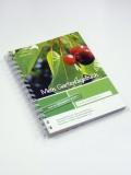 Mein Gartentagebuch - kirschenrot